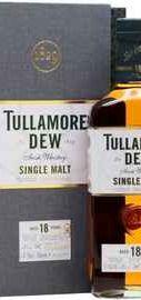 Виски ирландский «Tullamore Dew 18 Years Old» в подарочной упаковке