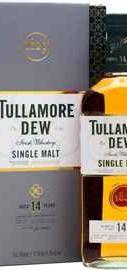 Виски ирландский «Tullamore Dew 14 Years Old» в подарочной упаковке