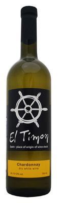 Вино столовое белое сухое «El Timon Chardonnay»