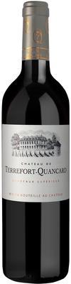 Вино красное сухое «Chateau de Terrefort-Quancard, Bordeaux Superior» 2014 г.