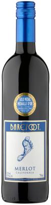 Вино красное полусухое «Barefoot Merlot»