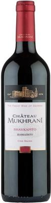 Вино красное сухое «Chateau Mukhrani Shavkapito» 2013 г.