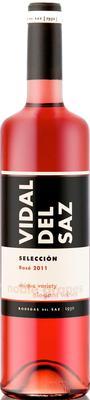 Вино розовое сухое «Vidal Del Saz Seleccion» 2014 г.
