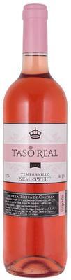Вино розовое полусладкое «Taso Real Tempranillo»
