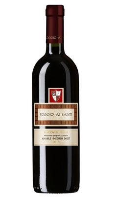 Вино красное полусладкое «Poggio Ai Santi Sangiovese»