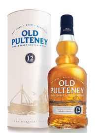 Виски шотландский «Old Pulteney 12 Years» в тубе
