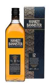 Виски шотландский «Hankey Bannister 12 Years Old» в подарочной упаковке