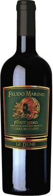 Вино красное полусухое «Le Dune Pinot Nero»
