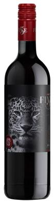Вино красное полусухое «Top Five Pinotage»