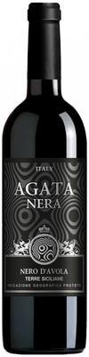 Вино красное полусухое «Agata Nera»