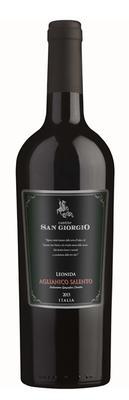 Вино красное сухое «Leonida Aglianico San Giorgio»
