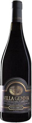 Вино красное сухое «Montepulciano d'Abruzzo Villa Gemma» 2007 г.