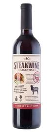 Вино красное полусухое «Steakwine Cabernet Sauvignon»