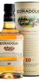 Виски шотландский  «Edradour 10 Years Old» в тубе