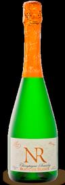 Российское шампанское белое брют «Блан де Бланс. Белое из белого. Номерной резерв»