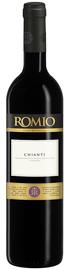 Вино красное сухое «Romio Chianti» 2016 г.