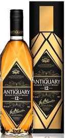 Виски шотландский «The Antiquary 12 years old» в подарочной упаковке