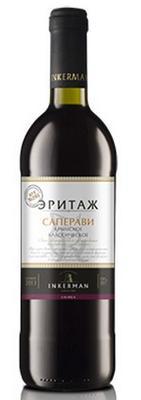 Вино красное сухое «Саперави Крымское Классическое»