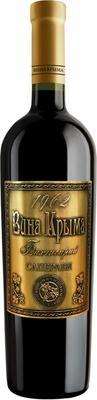 Вино столовое красное полусладкое «Вина Крыма Саперави, 0.75 л»