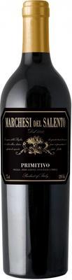 Вино красное полусухое «Marchesi Del Salento Primitivo» 2016 г.