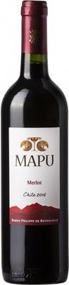 Вино красное сухое «Mapu Seleccion Merlo»