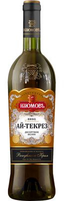Вино столовое белое сладкое «Ай-Текрез»