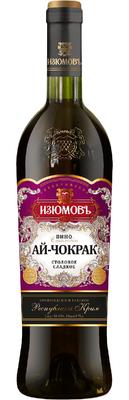 Вино столовое красное сладкое «Ай-Чокрак»
