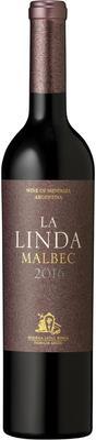 Вино красное сухое «Malbec La Linda» 2016 г.