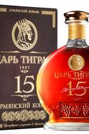Коньяк армянский  «Царь Тигран 15 лет » в подарочной упаковке