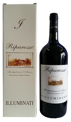 Вино красное сухое «Riparosso Montepulciano d'Abruzzo» 2016 г., в подарочной упаковке