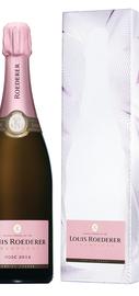 Шампанское розовое брют «Louis Roederer Brut Rose» 2012 г., в подарочной упаковке
