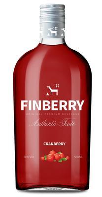 Напиток винный особый сладкий «Finberry Cranberry, 0.5 л»