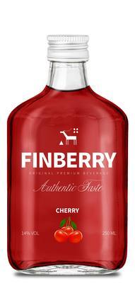 Напиток винный особый сладкий «Finberry Cherry, 0.25 л»