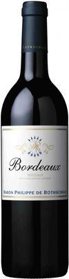 Вино красное сухое «Bordeaux La Baronnie Rouge, 0.75 л»