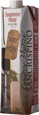 Вино красное сухое «Carattere Antico Sangiovese Merlot»