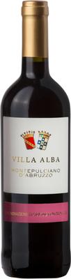 Вино красное сухое «Montepulciano d'Abruzzo»