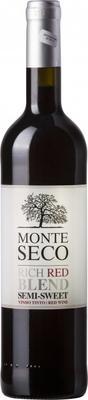 Вино красное полусладкое «Monte Seco Rich Red Blend»