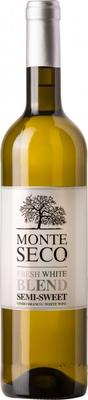 Вино белое полусладкое «Monte Seco Fresh White Blend»
