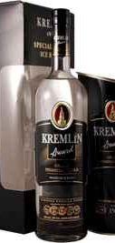 Водка «Kremlin Award» в подарочной упаковке с ведерком для льда