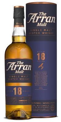 Виски шотландский «Arran 18 Years Old» в тубе