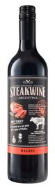 Вино красное полусухое «Steakwine Malbec» 2017 г.