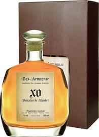 Арманьяк «Domaine de Haubet XO Bas-Armagnac» в подарочной упаковке