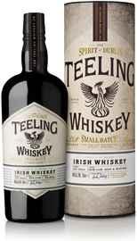 Виски ирландский «Teeling Irish Whiskey Blend» в подарочной упаковке