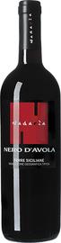 Вино красное сухое «Nadaria Nero d'Avola» 2016 г.
