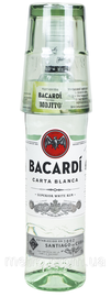 Ром «Bacardi Carta Blanca» + стакан