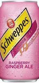 Газированный напиток «Schweppes Raspberry Ginger Ale»