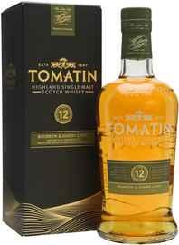 Виски шотландский «Tomatin 12 Year Old» в подарочной упаковке