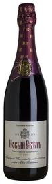 Вино игристое выдержанное красное брют «Новый Свет»