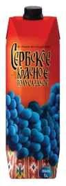 Вино красное полусладкое «Сербское (Тетра Пак)»
