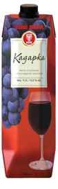 Вино красное полусладкое «Кадарка (Тетра Пак)»
